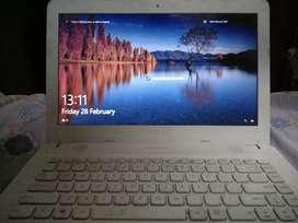 Laptop Asus X441N Putih Ram 4 Bekas