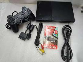 Slim ps2 32 Gb 20  games with all new accesseries