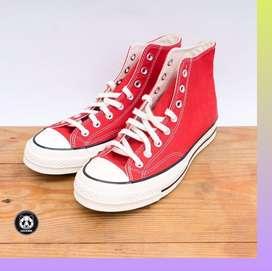 Sepatu Converse Chuck 70s Red Original Garansi Uang Kembali Lk.05