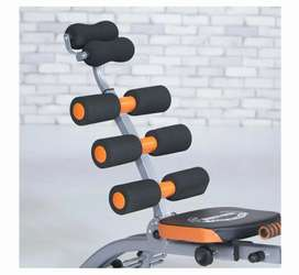 Home gym for good abs and fitness with cycling option