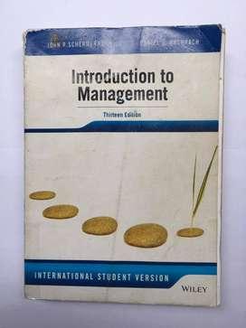 Buku Introduction To Management 13 edition