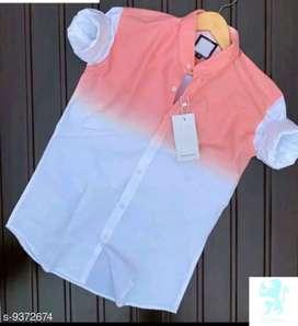 Men's multi colored cotton shirt