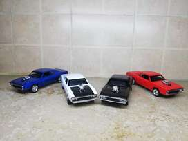 Dom's Dodge Charger diecast metal model cars