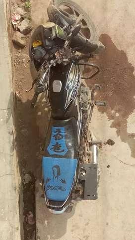 Bajaj discover petrol and lpg