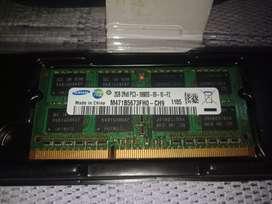 LAPTOP 2GB RAM DDR3/PC3  10600S