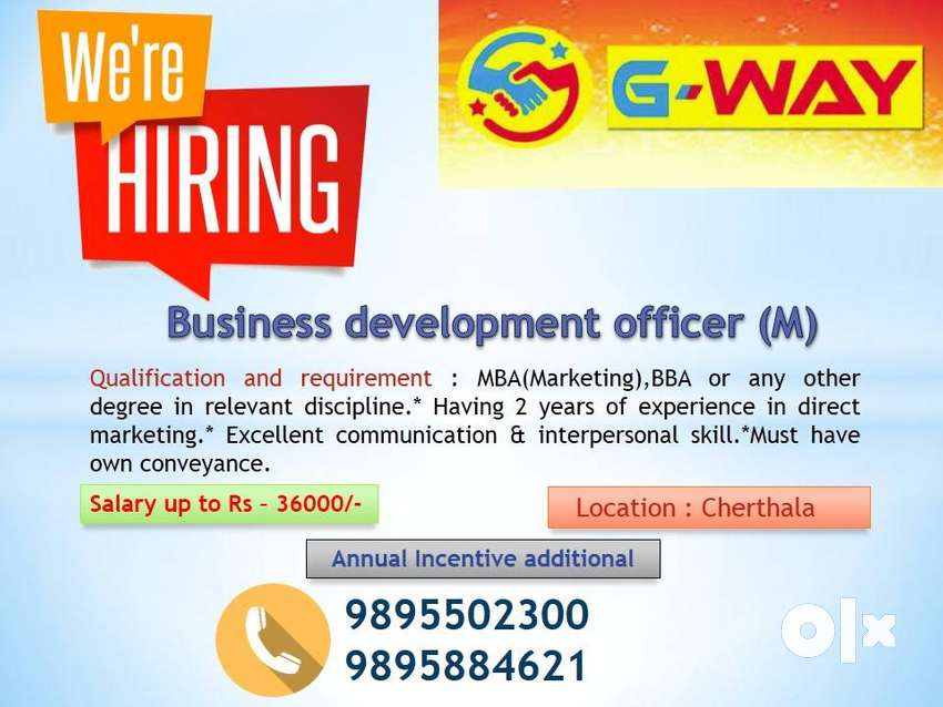 Vacancy for Business Development Executive 0