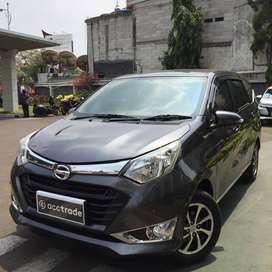 Daihatsu Sigra 1.2 R M/T 2017 ABU-ABU