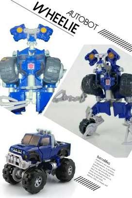 Robot Transformers ROTF Autobot Wheelie - Deluxe Class - Ori Hasbro