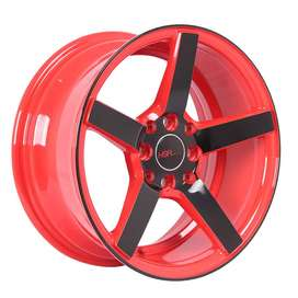 Velg Mobil Datsun Go Fiesta Panda Ring 15 Ne3 4x100-1143 Red Black Fac