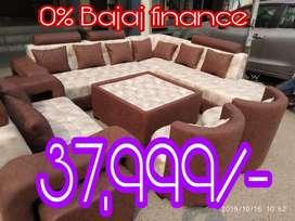 Bajaj 0% interest yaha asan kishta che furniture milda hai