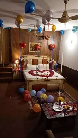 Rooms Availabale For Party Familes & Couples