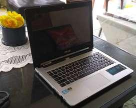 LAPTOP ASUS A46CM / K46CM Intel Core i3 SSD Dual VGA Istimewa