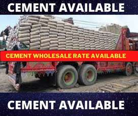 Cement Available Wholesale Rate