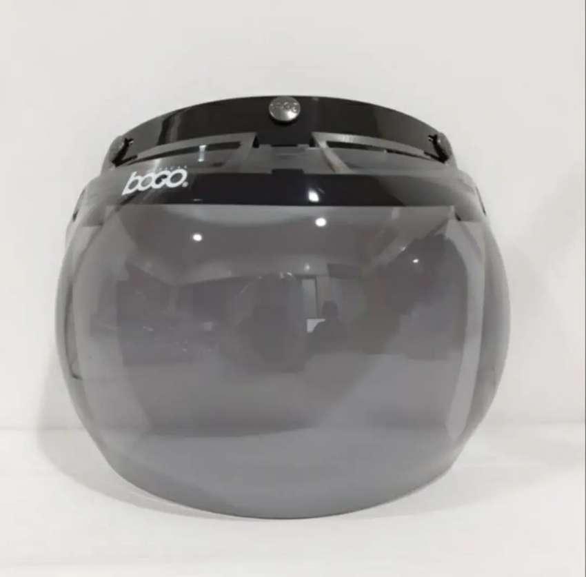 Kaca helm bogo ORI smoke