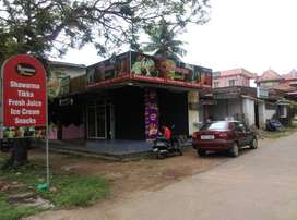 1 HOTEL+2 SHOPS+HOUSE Road facing FOR SALE IN MANIPAL-High Rent Paying