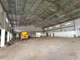 85 cents of land with 20000 sqft godown getting rent nr container road