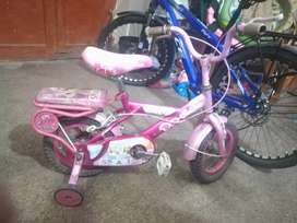 bicycle for kids(4 to 6 age) in excellent condition heavy solid frame
