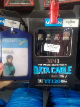 Kabel data 3 in 1(type-c,iphone,micro)