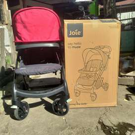 stroller joie muze single cherry baby