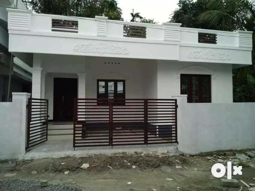 2 bhk 950 sqft 3.5 cent new build house at edapally varapuzha area 0