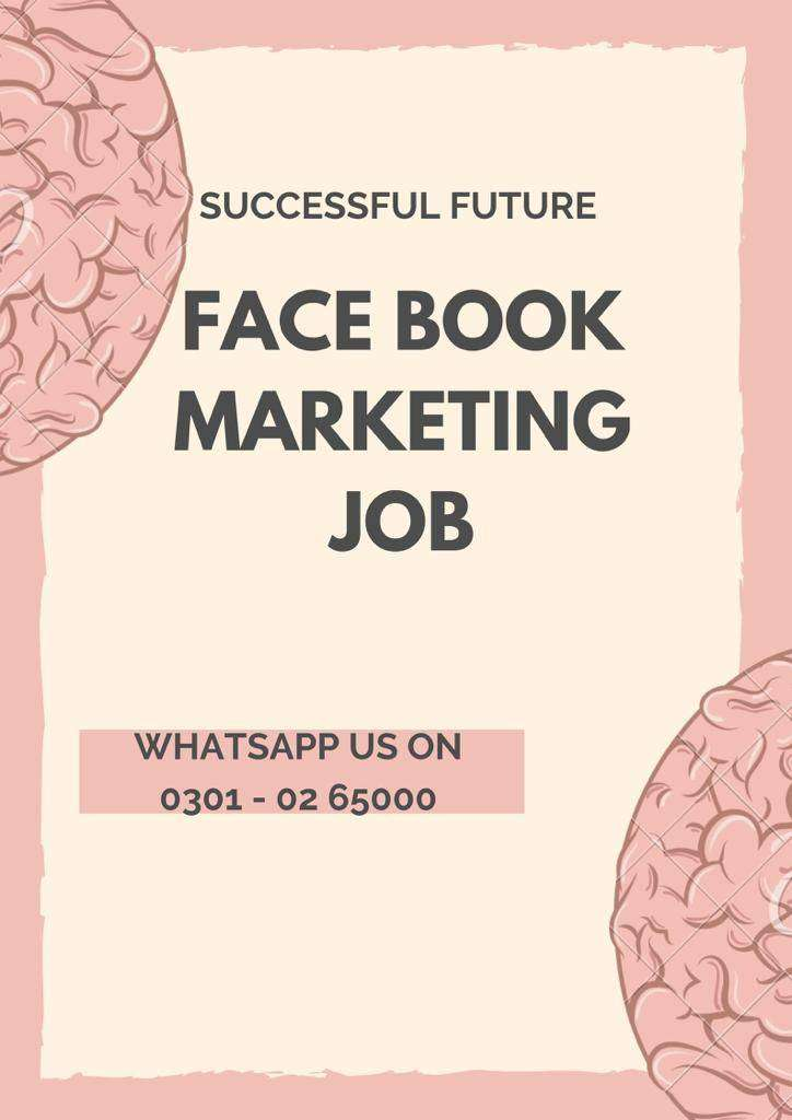We are hiring passionate person for part time, Face book Marketing job