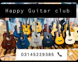 Rock Acoustic Guitar Best Guitar for learning at  Happy Guitar club