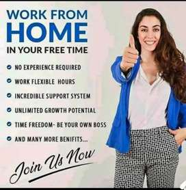 Work from home and earn online 5000 to 10000 ₹weekly