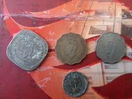 Antique coin collection