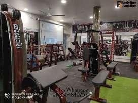 New gym Machine full club equipment machine setup.