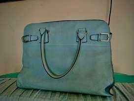 Hermes Blue Bag