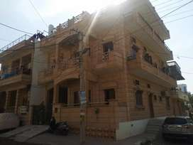 A second floor semi furnished house