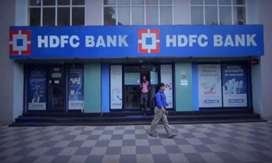 Urgent Requirment in HDFC BANK