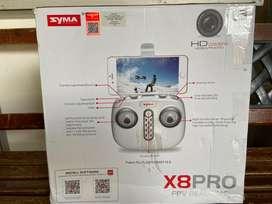 Drone syma x8pro dual battery like new siap terbang
