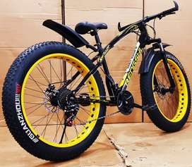 FAT TYRES  CYCLES 21_GEARS HIGH SPEED CYCLE