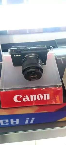 Kamera Canon Mirrorless eosm100 Kredit gratis 1x angsuran