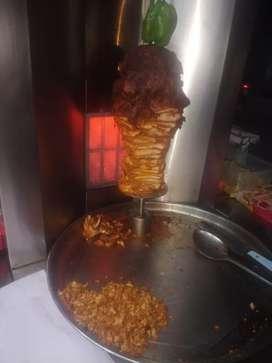 Shawarma nd Chinese helper