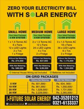 Solar Panels Complete turn-key Discounted Packages