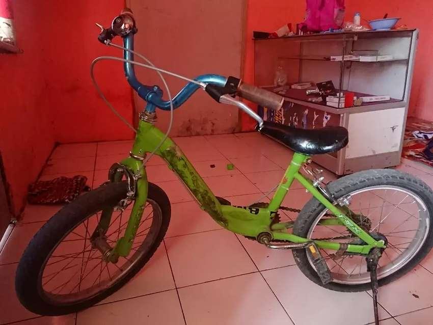 Sepeda anak model cewek cowok usia 8-13 thn