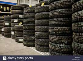 USED SECOND HAND TYRES AVAILABLE FOR ALL VEHICLES.