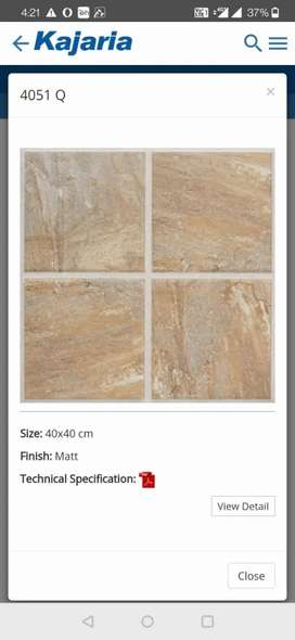 Accontent needed for tile showroom