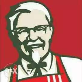 Direct joining KFC Restaurant . Chhattisgarh.