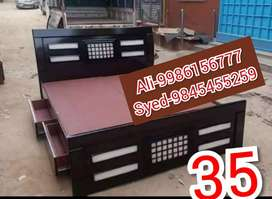 New mini cot without box 4250 with box 6500