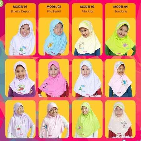 Jilbab Anak Shabihah 0
