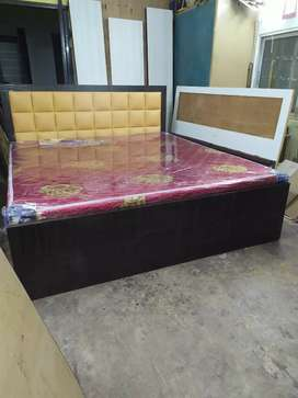 NEW MODERN DOUBLE BOX BED KING SIZE (7x6)