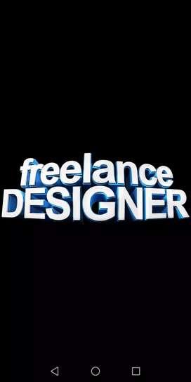 Iam a freelance graphic designer