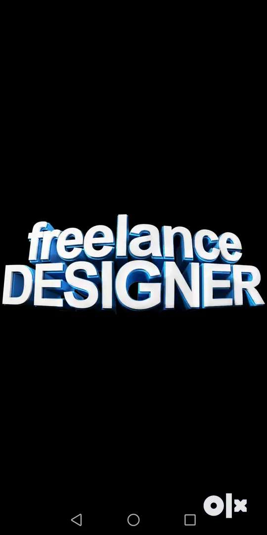 Iam a freelance graphic designer 0