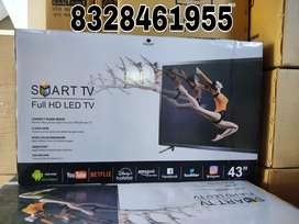4k latest 42inch smart android led all apps with 2 years warranty