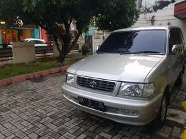 Kijang LGX 2001 Diesel Silver Manual