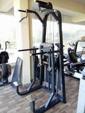 All type of Gym equipment's available in EMI
