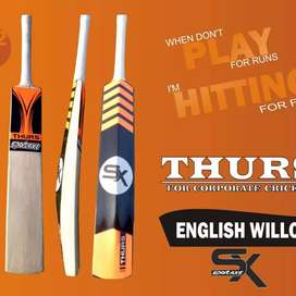 Brand new cricket leather bat English willow